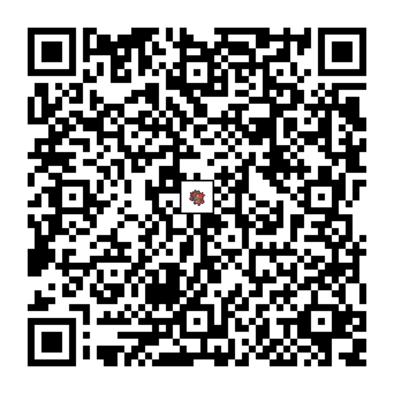 ガオガエンのQRコードの画像