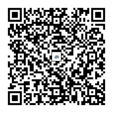 オニシズクモのQRコード画像