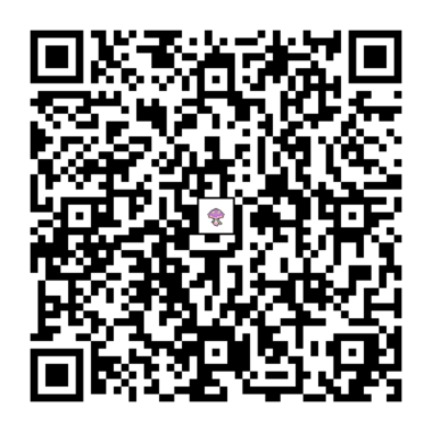 マシェードのQRコードの画像