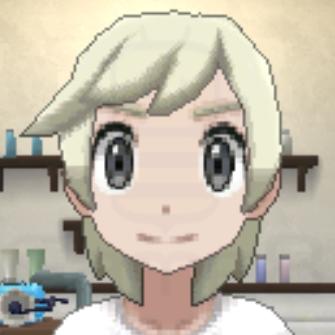 髪色プラチナブロンドの画像