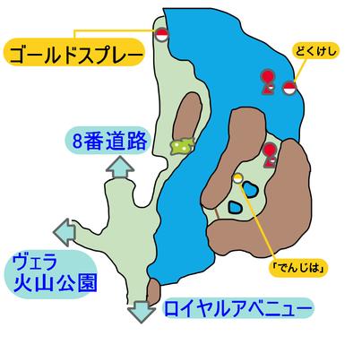7番道路のマップ画像