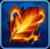 火炎の羽の画像