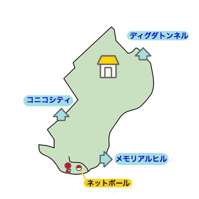 9番道路のマップ画像