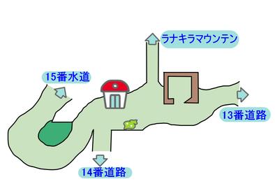 カプの村のマップ画像