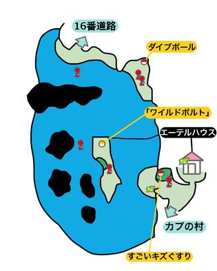 15番水道のマップ画像