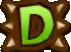 Dランクのアイコン