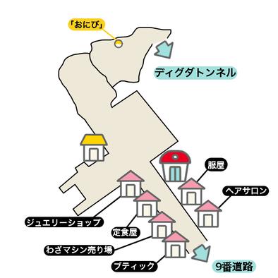 コニコシティのマップ画像