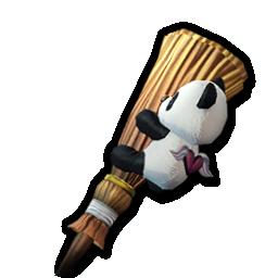 おしゃまメイドのパンダスタッフの画像