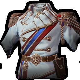 近衛士官の正装の画像
