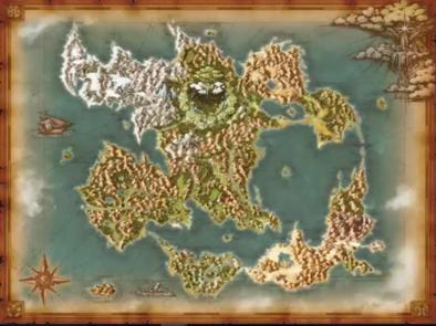ドラクエ11のワールドマップ