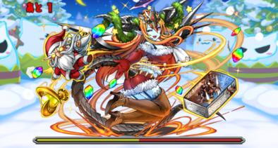 クリスマスダンジョンの7F