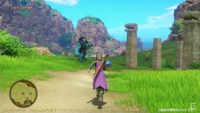 ドラクエ11のPS4版ゲーム画像