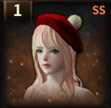 メリクリベレー帽の画像