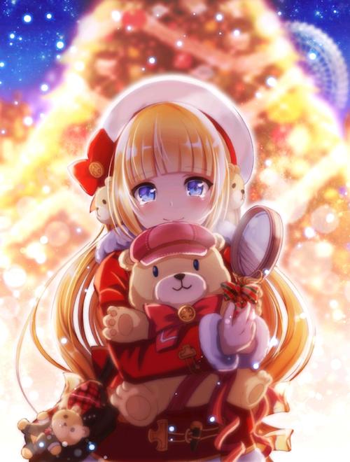クリスマスリリー覚醒絵
