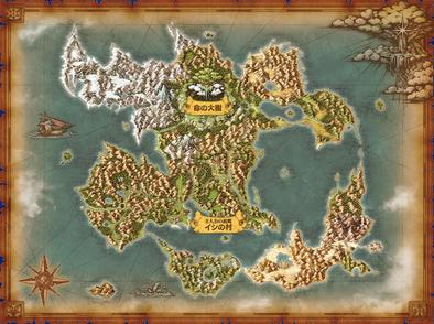 ドラクエ11ワールドマップの画像