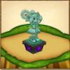 プリムラの像