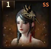 黒龍の簪の画像