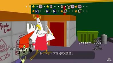 パラッパラッパーPSの画面