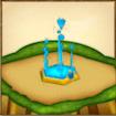 水のエレメントシンボルのアイコン