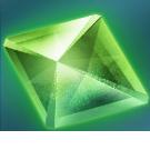 碧の結晶の画像