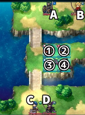 縛鎖の第9迷宮:第5ステージのマップ画像