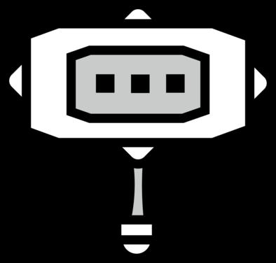 ハンマーのアイコン画像