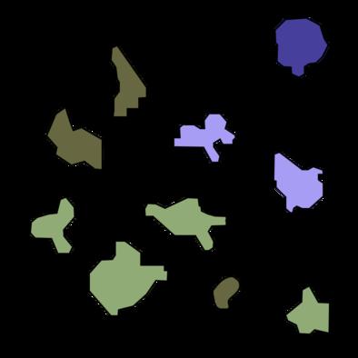 遺群嶺のマップ