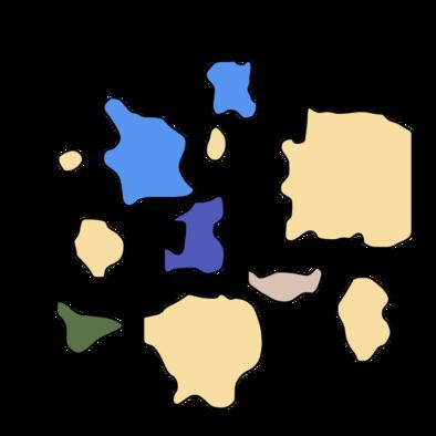 モンハンダブルクロスの砂漠のマップ
