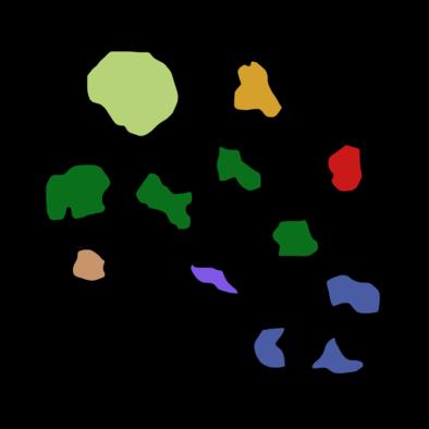 モンハンダブルクロス古代林のマップ