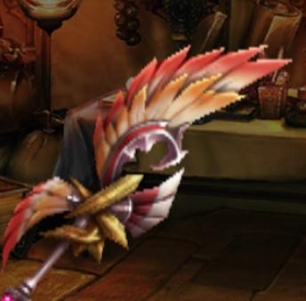 極楽鳥の重翼刃の画像