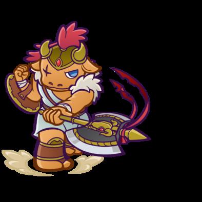 剣闘士ミノタウロス