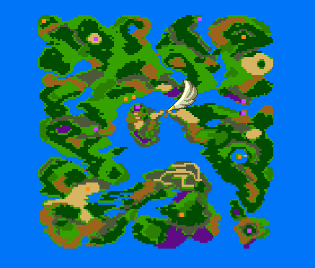 にじのしずくを使う場所の世界地図