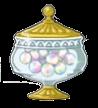 虹のキャンディボックスの画像