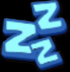 眠りのアイコン