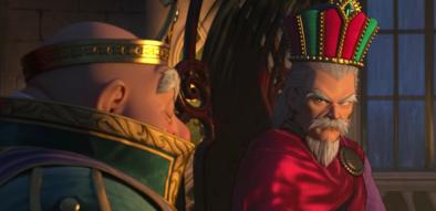 ロウとデルカダール王の画像
