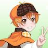 [かわいい探偵さんの画像