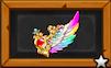 七色羽のお守りのアイコン