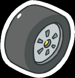 タイヤのアイコン