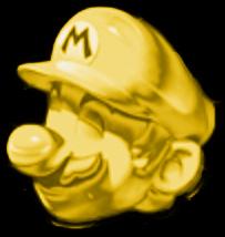 ゴールドマリオのアイコン