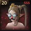 鼻メガネの画像