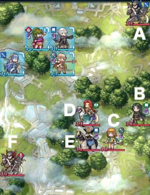 縛鎖の第10迷宮:第5ステージのマップ画像