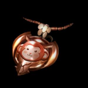 ウッキーの首飾りの画像