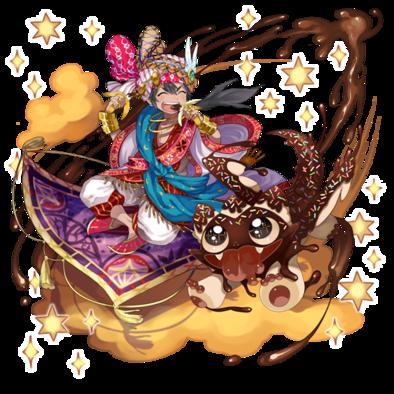 [甘い絆]アラジン&チョコドラの画像
