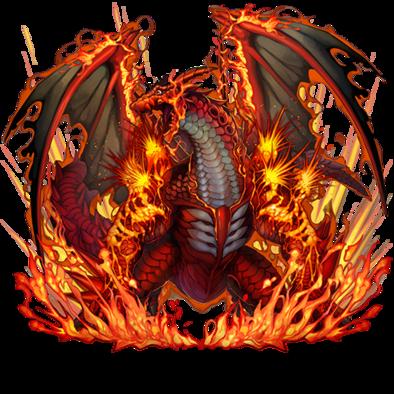 [溶岩竜]ラヴァの画像