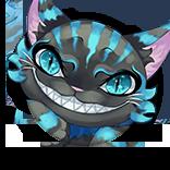 [猫のない笑い]チェシャ猫の画像