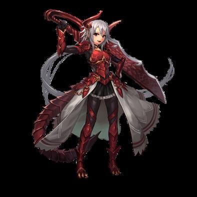 赤竜騎士・アルンの画像
