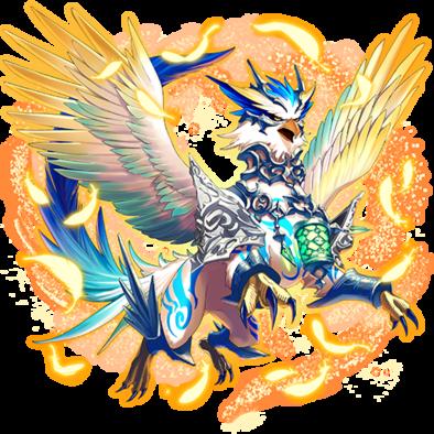 光翼の聖獣・クオンの画像