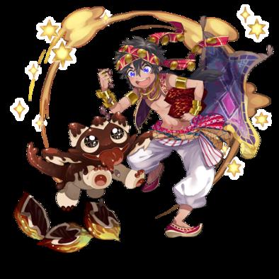 アラジン&チョコドラの画像
