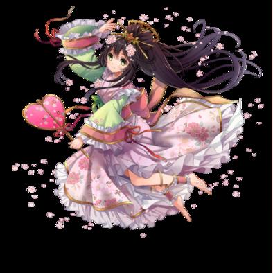 春の神・さほ姫の画像