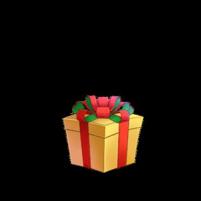 不思議なプレゼント(黄)の画像